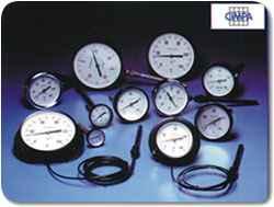 Termómetros de acero inoxidable, bimetálicos y a gas inerte