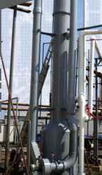 Lavadores de Gases en Plástico Reforzado