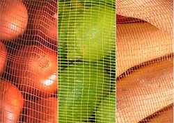 Bolsa de tela rejilla para frutas y hortalizas