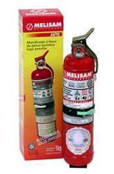 Matafuego (Extintor) a Base de Polvo Químico ABC de Diam. 3 pulg