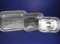 Bandejas de aluminio rectangulares