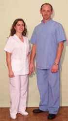 Uniformes para sanidad
