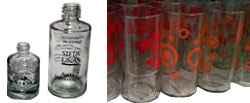 Serigrafía en envases cilindricos de vidrio