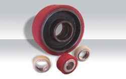 Revestimiento de ruedas y rodillos en poliuretano