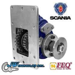 Tomas de fuerza línea modular Scania