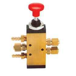 Válvulas neumáticas de mando manual para transportes