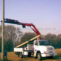 Alquiler de camiones con hidrogrúa para todo propósito