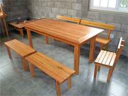 Mesa Estilo Deck ideal para quinchos