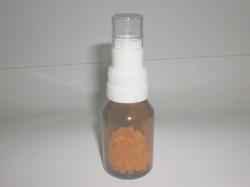 Tapa dosificador de globulos para homeopatia.