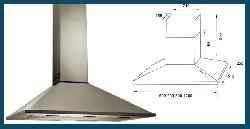Campana Pirámide línea PBA acero inoxidable