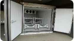 Módulos frigoríficos transportables y acoplables.