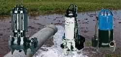 Bombas sumergibles para desagote pluvial y cloacal