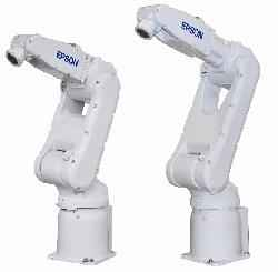 Robots Industriales EPSON y NACHI para automatizar.