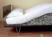 Récord de plata en el colchón: ya hay 133.000 millones de dólares