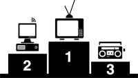 Internet le ganó a la radio como medio de información