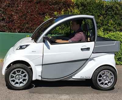 Primeros vehículos eléctricos nacionales homologados circulación en ciudad